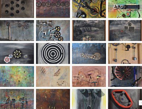galerie art cinétique optique, gallery kinetic op'art, muzemu scalbert, Cambieure, Aude France, www.jfscalbert.com